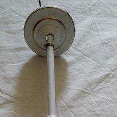 Antigüedades: LAMPARA DE TECHO ART NOUVEAU ESMALTADA EN PORCELANA. Lote 111539003