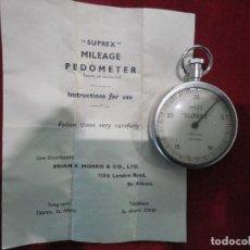 Antigüedades: APARATO MEDIDOR PODOMETER. Lote 111539467
