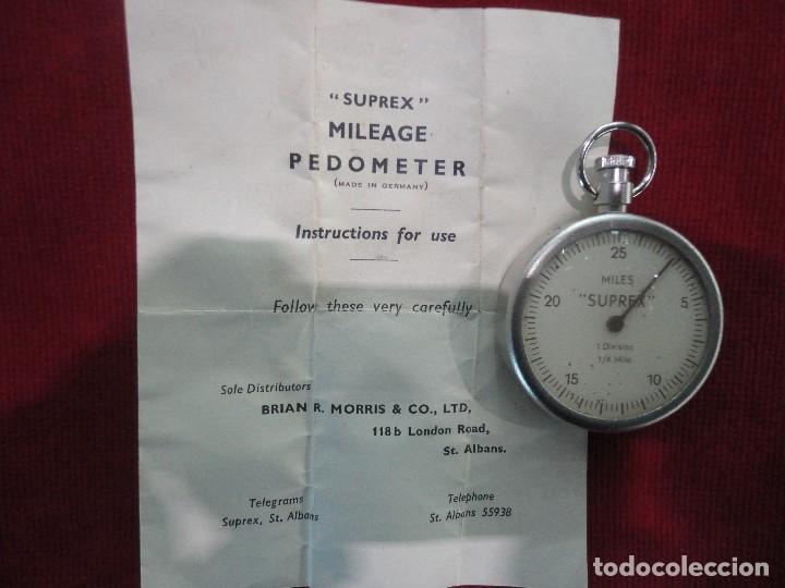 Antigüedades: APARATO MEDIDOR PODOMETER - Foto 3 - 111539467