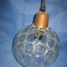 Antigüedades: LAMPARA DE CRISTAL AÑOS 60. Lote 111542555