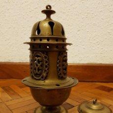 Antigüedades: INCENSARIO DE BRONCE. SIGLO XVII. Lote 111544879
