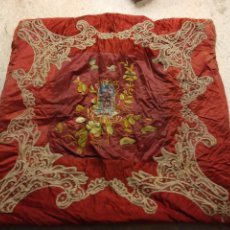Antigüedades: EDREDON DE SOBRE CAMA, FINES XIX- PPIO XX. Lote 111551883
