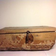 Antigüedades: ANTIGUO MUEBLE ARCA ARQUILLA POPULAR . Lote 111575239