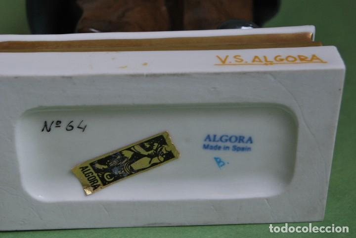 Antigüedades: FIGURA DE PORCELANA DE ALGORA - SERENO - SERIE OFICIOS - IMPECABLE ESTADO - Foto 18 - 111593947