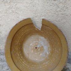 Antigüedades: LEBRILLO DE BARRO.. Lote 111618883
