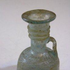 Antigüedades: ANTIGUA FIOLA O PERFUMERO ROMANO EN VIDRIO SOPLADO . Lote 111624335