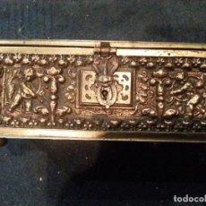 Antigüedades: CAJA BRONCE. Lote 111628011
