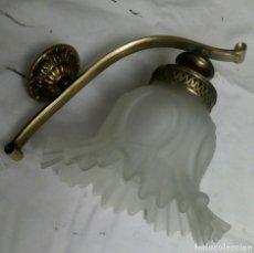 Antigüedades: APLIQUE TULIPA LÁMPARA ANTIGUA. Lote 111632867