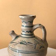 Antigüedades: VINAGRERA CERAMICA DE TERUEL - S.XVIII-XIX.. Lote 111634499