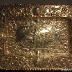 Antigüedades: BANDEJA PLATA REPUJADA. Lote 111637767