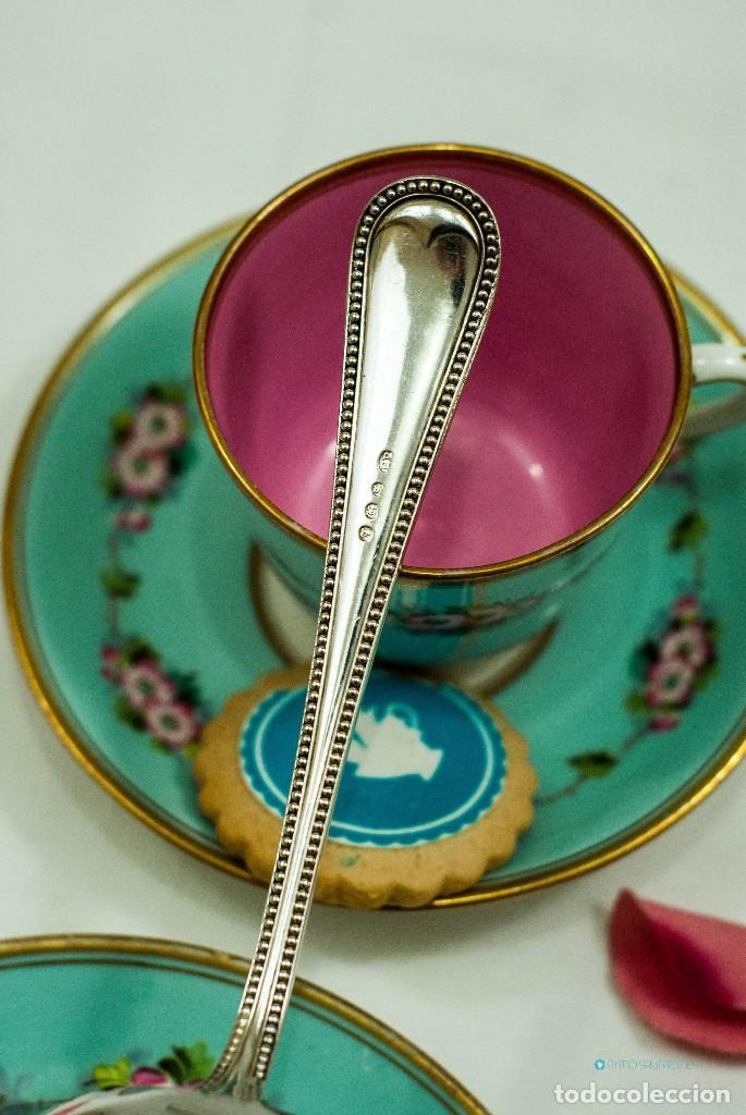 Antiquitäten: Espatula para tartas / servidor / pastel PLATA INGLESA 1900c - Foto 4 - 111641803