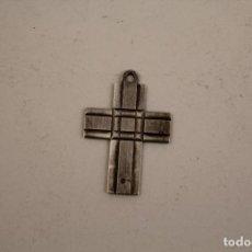 Antiquitäten - colgante cruz en plata de ley - 111661135