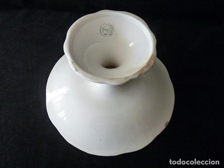 Antigüedades: ANTIGUO FRUTERO DE LOZA LA CARTUJA PICKMAN SEVILLA. CIRCA 1900 - Foto 8 - 111666371
