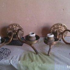 Antigüedades: APLIQUES PARA PARED. Lote 111670255