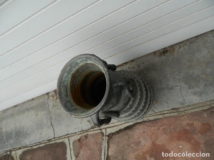 Antigüedades: JARRON PARAGÜERO CERÁMICA AÑOS 60 - Foto 3 - 111696447