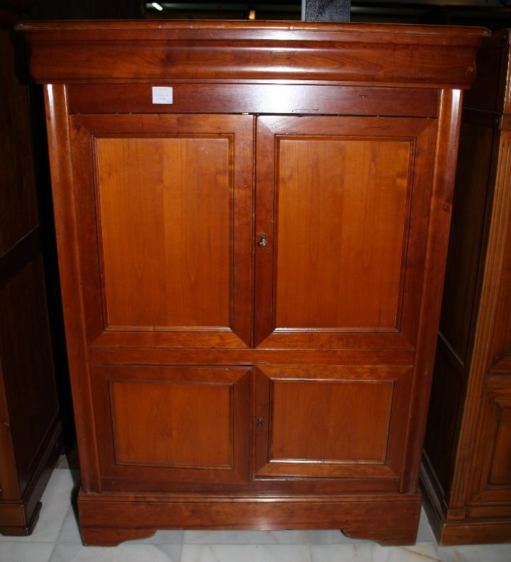 MUEBLE TV, LUIS FELIPE. REF. 5859 (Antigüedades - Muebles Antiguos - Auxiliares Antiguos)