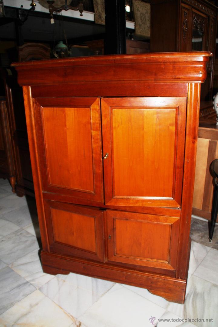 Antigüedades: MUEBLE TV, LUIS FELIPE. REF. 5859 - Foto 2 - 49197034