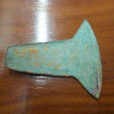 Antigüedades: HACHA MONEDA INCA. SIGLOS XIV - XV. BRONCE. AUTÉNTICA. PRECOLOMBINA. ¡ÚNICA! INCARIO. Lote 111712575