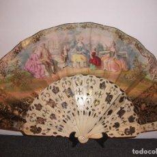 Antigüedades: ABANICO MARFIL. Lote 111733503