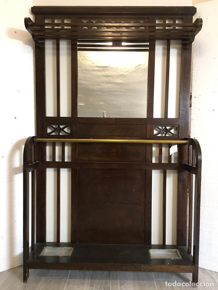 RECIBIDOR PERCHERO (Antigüedades - Muebles Antiguos - Auxiliares Antiguos)