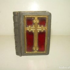 Antigüedades: ANTIGUA CAJITA RELIGIOSA PARA PORTAR RELIQUIA.. Lote 111791755