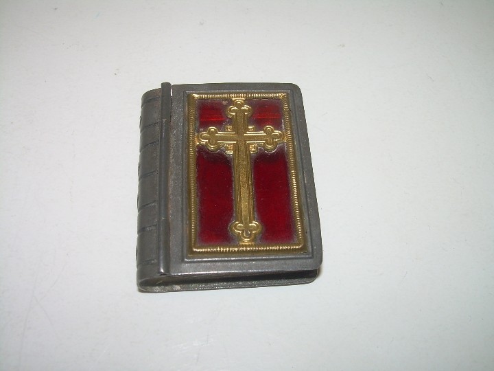 Antigüedades: ANTIGUA CAJITA RELIGIOSA PARA PORTAR RELIQUIA. - Foto 2 - 111791755