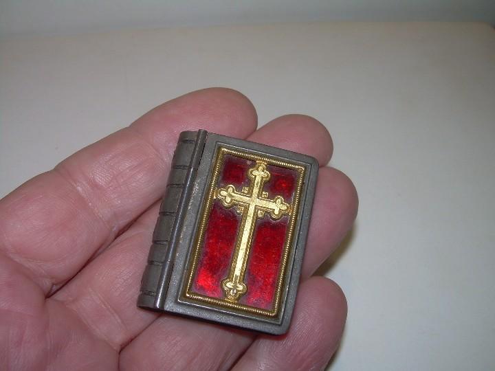 Antigüedades: ANTIGUA CAJITA RELIGIOSA PARA PORTAR RELIQUIA. - Foto 5 - 111791755