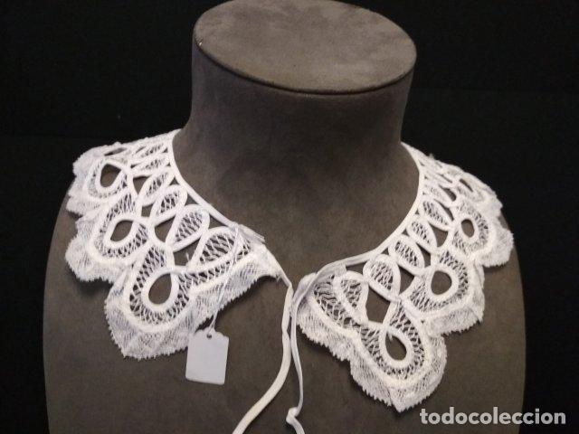 ANTIGUO CUELLO ENCAJE DUQUESA (Antigüedades - Moda y Complementos - Mujer)