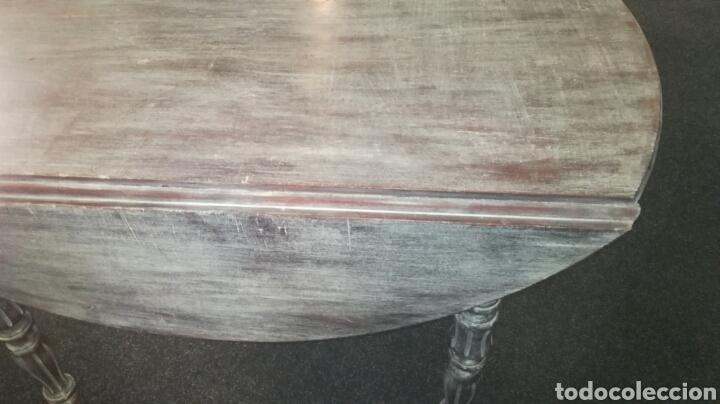 Antigüedades: Mesa de comedor con cera Blanca es de madera. JM/ - Foto 2 - 111843074