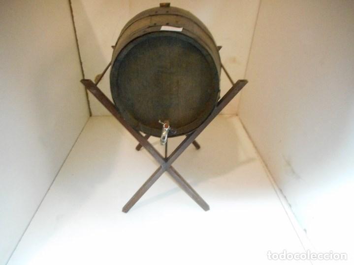 BOTA,TONEL BARRIL VINO GRIFO,MADERA (Antigüedades - Técnicas - Rústicas - Utensilios del Hogar)