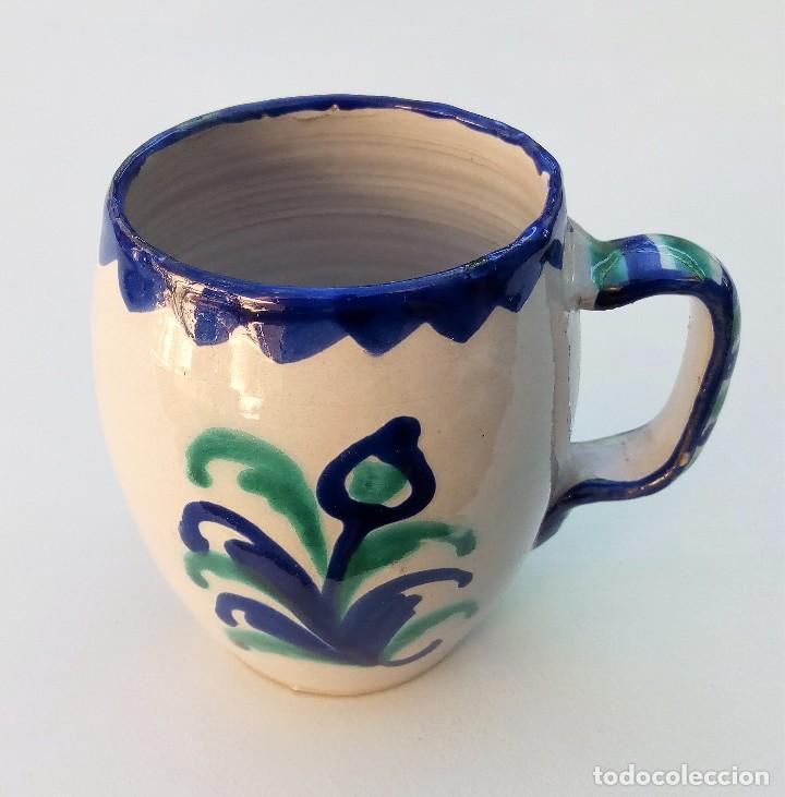 JARRA DE FAJALAUZA GRANADA (Antigüedades - Porcelanas y Cerámicas - Fajalauza)