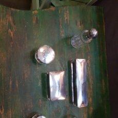 Antigüedades: JUEGO DE TOCADOR ART-DECO. MANESES. Lote 111908168