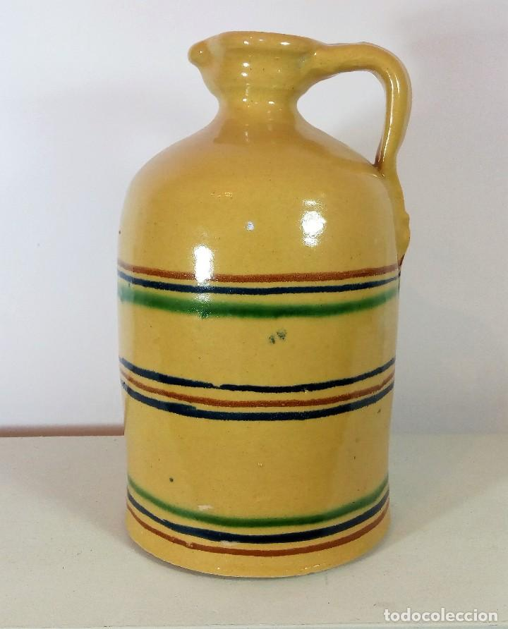 JARRA ALCUZA DE CERÁMICA VIDRIADA DE LUCENA CÓRDOBA (Antigüedades - Porcelanas y Cerámicas - Lucena)