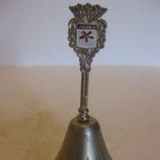 Antigüedades: CAMPANILLA EN MINIATURA DE LA SIERRA DE CAZORLA. Lote 111938779