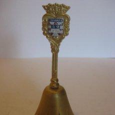 Antigüedades: CAMPANILLA EN MINIATURA DE GRANADA. Lote 111939235