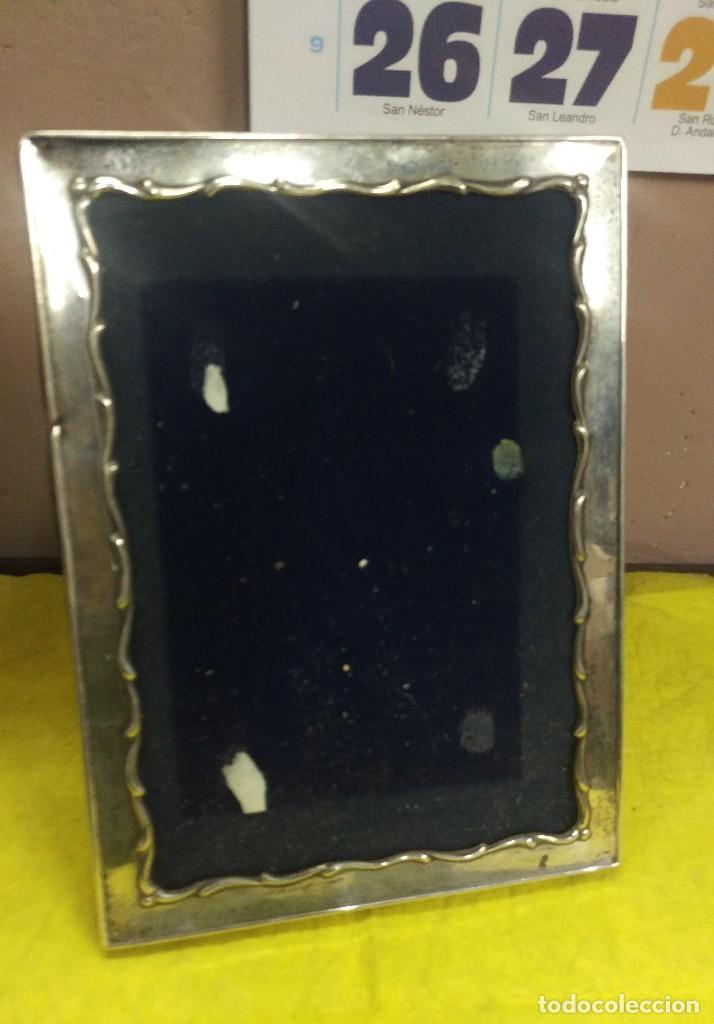 antiguo marco portafotos de plata 16 x 22 cm. - Comprar Objetos ...