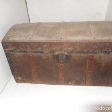 Antigüedades: BAUL ANTIGUO PARA RESTAURAR. Lote 111963315