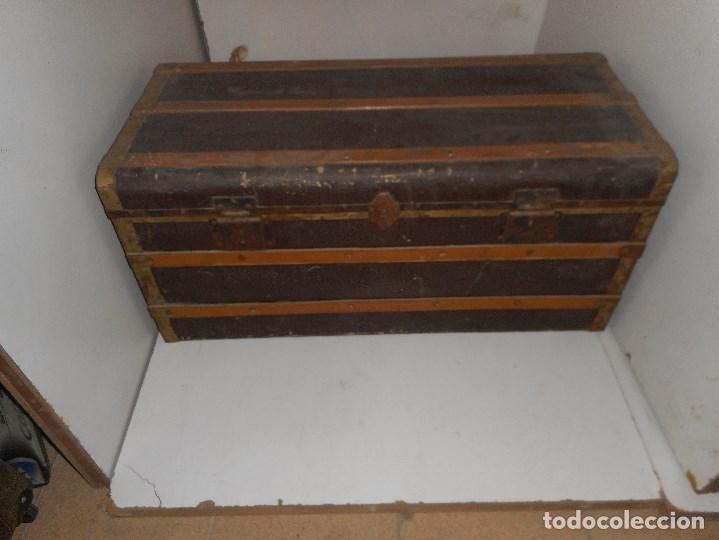 BAUL ANTIGUO PARA RESTAURAR (Antigüedades - Muebles Antiguos - Baúles Antiguos)
