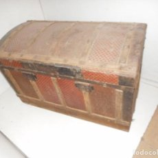 Antigüedades: BAUL ANTIGUO PARA RESTAURAR. Lote 111966223