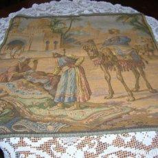 Antigüedades: MUY BONITO TAPIZ ANTIGUO.. Lote 111983607