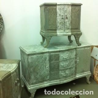 ANTIGUO TOCADOR (Antigüedades - Muebles Antiguos - Auxiliares Antiguos)