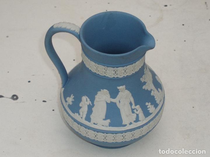 Antigüedades: Pareja jarras Wedgwood (Jasper ware) - Foto 4 - 112000287