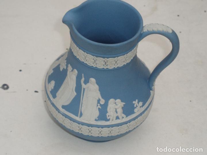Antigüedades: Pareja jarras Wedgwood (Jasper ware) - Foto 5 - 112000287