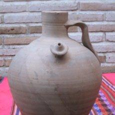 Antigüedades: CANTARO - BOTIJO EN CERAMICA POPULAR.. Lote 112004039