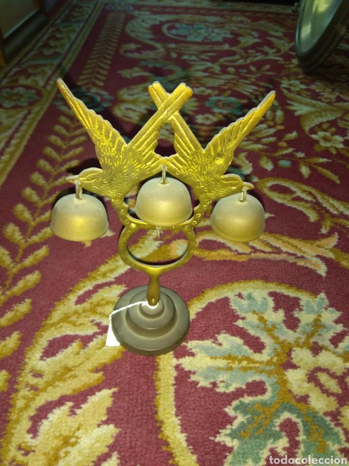 TIMBRE - CAMPANA - LLAMADOR DE SOBREMESA - (Antigüedades - Hogar y Decoración - Campanas Antiguas)
