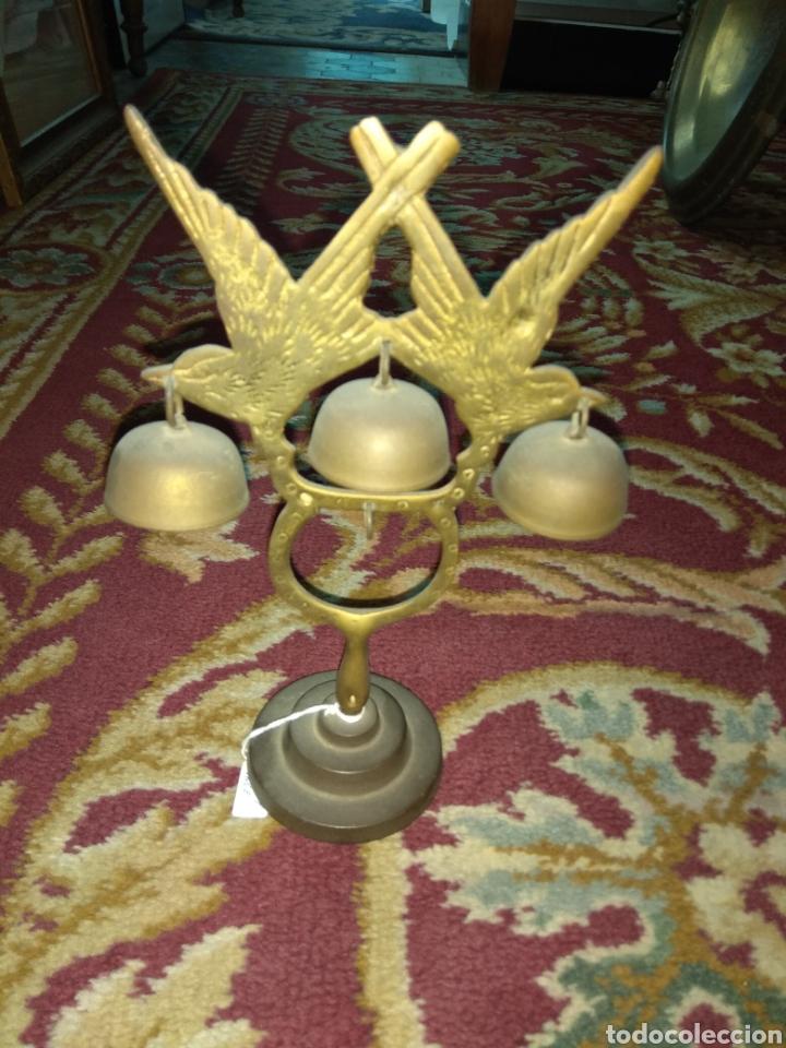 Antigüedades: Timbre - Campana - Llamador de Sobremesa - - Foto 4 - 112007724