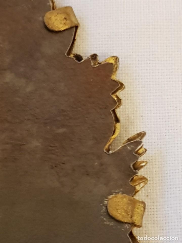 Antigüedades: Medalla de plata con marco de latón. Papa Pío X (1903-1914) - Foto 7 - 112023515