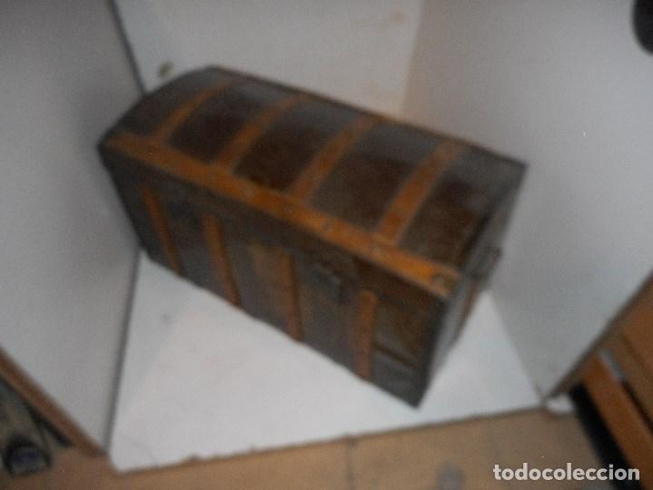 Antigüedades: baul antiguo restaurado - Foto 2 - 112491330