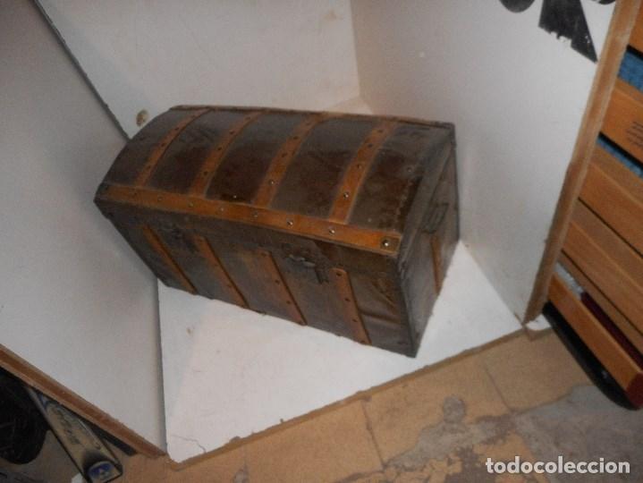 Antigüedades: baul antiguo restaurado - Foto 3 - 112491330