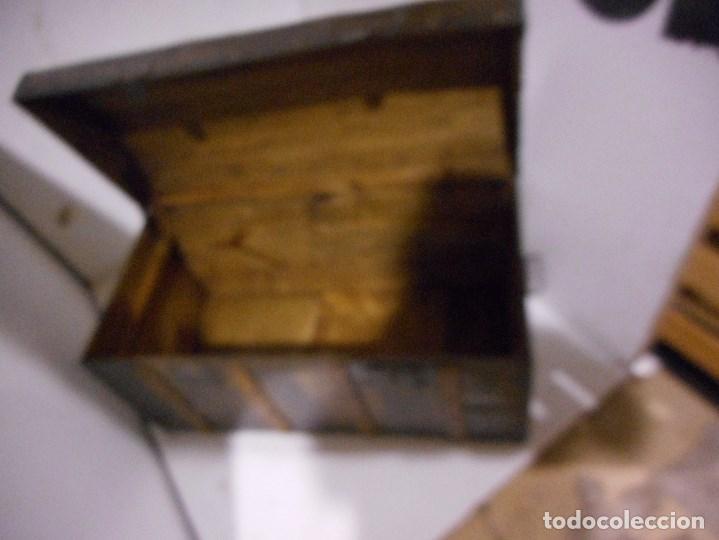 Antigüedades: baul antiguo restaurado - Foto 4 - 112491330